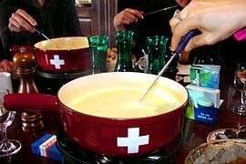fondue in an igloo (leysin)