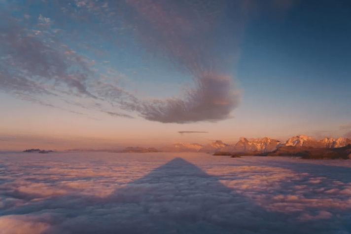 hiking at MOUNT NIESEN