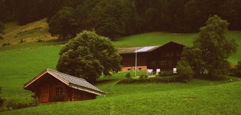 rent a cottage in Switzerland
